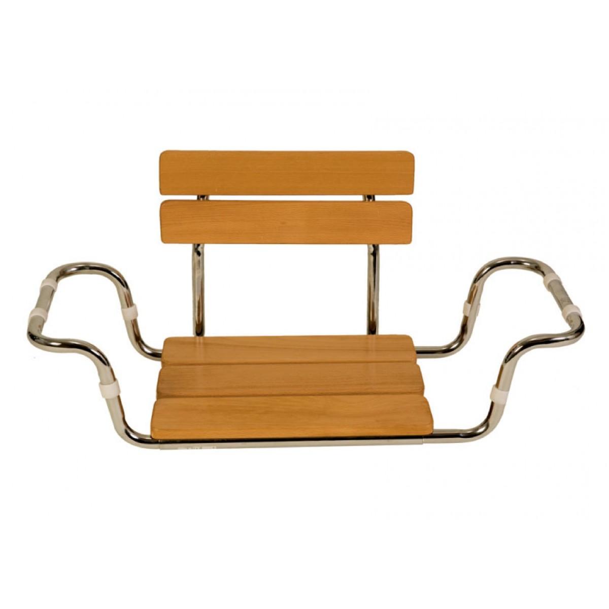 Sedile In Legno Con Schienale Per Vasca Da Bagno Bagno E Doccia Prodotti Prodotti Ortopedici E Sanitari