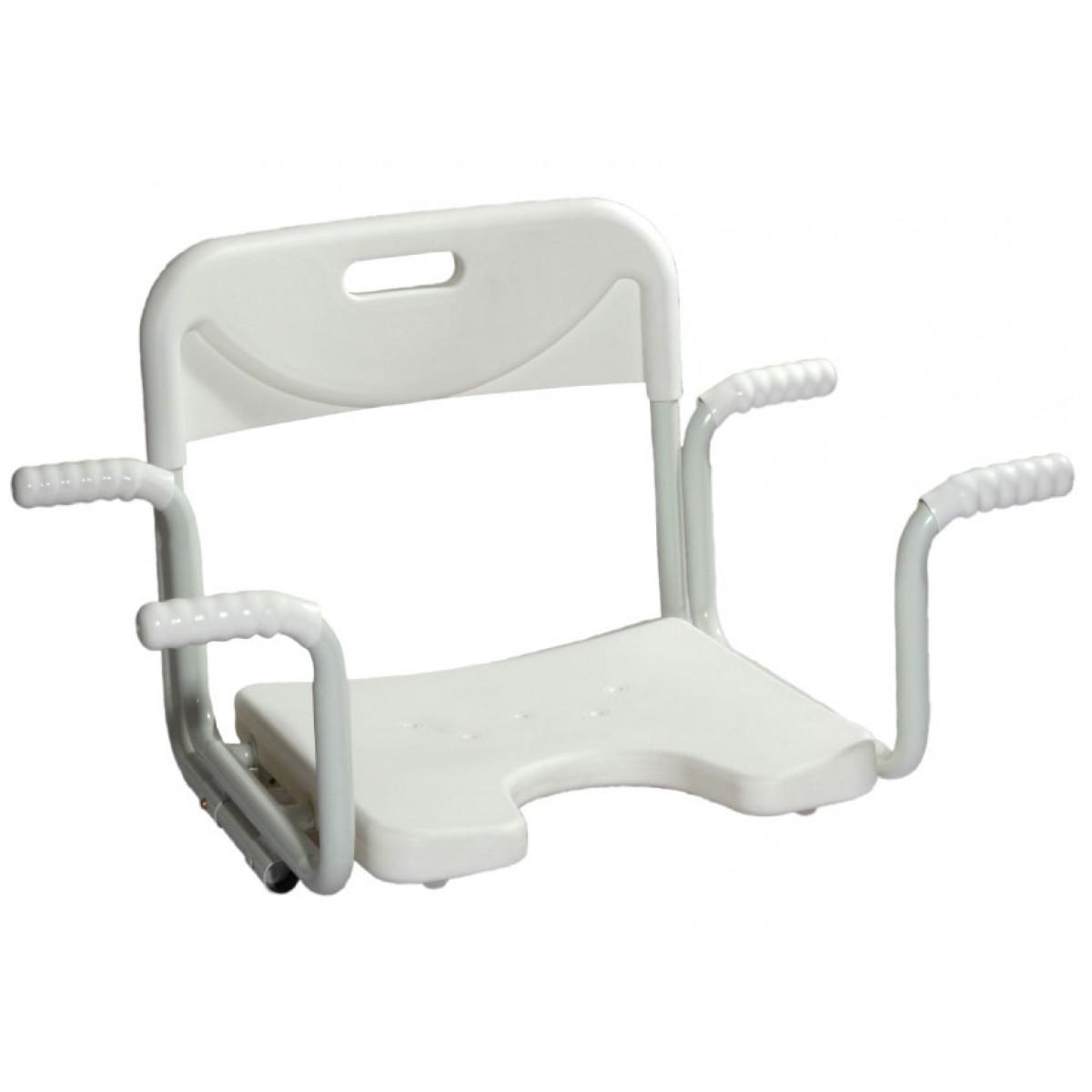 Sedile con schienale per vasca da bagno ausili per bagno - Prodotti per vasca da bagno ...
